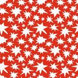 Abstrakcjonistycznych gwiazd Doodle Bezszwowa Deseniowa tekstura Zdjęcie Stock