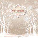 abstrakcjonistycznych gwiazdkę tła dekoracji projektu ciemnej czerwieni wzoru star white Śnieżny zima krajobraz Retro Wesoło Chry Obraz Royalty Free