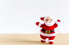 abstrakcjonistycznych gwiazdkę tła dekoracji projektu ciemnej czerwieni wzoru star white Święty Mikołaj na brązu stole Obrazy Stock