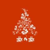 abstrakcjonistycznych gwiazdkę tła dekoracji projektu ciemnej czerwieni wzoru star white Fotografia Royalty Free