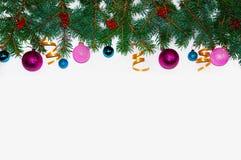 abstrakcjonistycznych gwiazdkę tła dekoracji projektu ciemnej czerwieni wzoru star white Boże Narodzenie rama robić jedlinowe gał Zdjęcia Stock