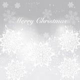 abstrakcjonistycznych gwiazdkę tła dekoracji projektu ciemnej czerwieni wzoru star white Nowożytny wakacyjny tło z płatkami śnieg Obraz Royalty Free