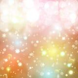 abstrakcjonistycznych gwiazdkę tła dekoracji projektu ciemnej czerwieni wzoru star white przejazd tła zimy śniegu Zdjęcie Royalty Free
