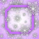 abstrakcjonistycznych gwiazdkę tła dekoracji projektu ciemnej czerwieni wzoru star white Wolumetryczni płatki śniegu z cieniami w Obrazy Royalty Free
