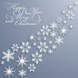 abstrakcjonistycznych gwiazdkę tła płatki śniegu ilustracyjni położenie Obrazy Royalty Free