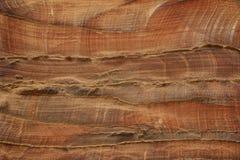 Abstrakcjonistycznych kolorowych wzorów piaskowcowy wąwóz Siq, Różany miasto, Petra, Zdjęcie Royalty Free