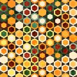 Abstrakcjonistycznych komórek bezszwowa tekstura Zdjęcia Royalty Free