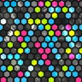 Abstrakcjonistycznych komórek bezszwowa tekstura Zdjęcie Royalty Free
