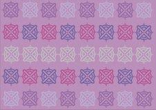 Abstrakcjonistycznych krzyży tła Deseniowy sztandar Zdjęcie Stock