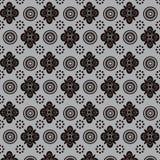 Abstrakcjonistycznych kwiecistych kształtów bezszwowy wzór Obraz Stock