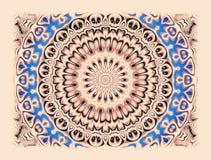 Abstrakcjonistycznych lata sześćdziesiąte stylowy tło ilustracji