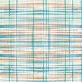 Abstrakcjonistycznych niebieskich linii bezszwowy wzór Zdjęcie Stock