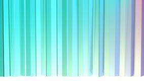 Abstrakcjonistycznych prostych błękit menchii niskie poli- 3D zasłony jako abstrakcjonistyczny prosty środowisko Miękki niski pol ilustracji