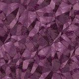 Abstrakcjonistycznych purpurowych trójboków bezszwowy tło Zdjęcia Royalty Free