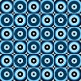 Abstrakcjonistycznych retro okregów bezszwowy wzór Zdjęcie Stock