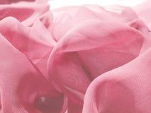 abstrakcjonistycznych tła menchii atłasowa tekstura Fotografia Stock