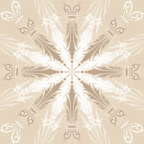 abstrakcjonistycznych tło projektowania elementów wektora kwiecisty Obrazy Stock