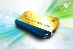 abstrakcyjna błękitnej karty zdjęcie kredytu Zdjęcie Royalty Free