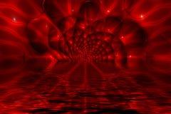 abstrakcyjna czerwone tło Obraz Stock