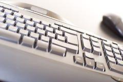 abstrakcyjna klawiatura komputera Zdjęcia Stock