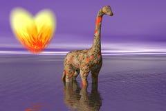 abstrakcyjna miłości Zdjęcie Stock