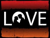 abstrakcyjna miłości Zdjęcia Stock