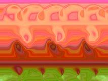 abstrakcyjna natura wzrostu ilustracji