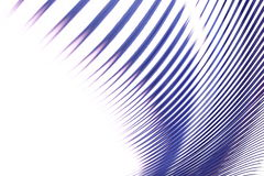 abstrakcyjna niebieska linia Obrazy Royalty Free