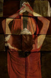 abstrakcyjna portret kobiety Zdjęcie Royalty Free