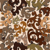 abstrakcyjna tapeta bezszwowa 3 d Obraz Royalty Free
