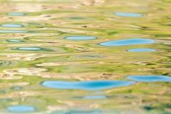 abstrakcyjna wód powierzchniowych Fotografia Stock