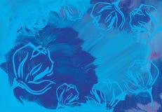 abstrakcyjny akrylowy tło Obraz Royalty Free