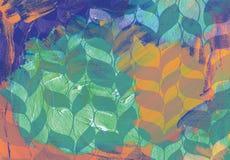 abstrakcyjny akrylowy tło Obraz Stock