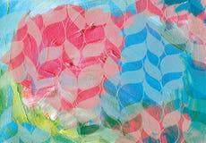 abstrakcyjny akrylowy tło Zdjęcie Royalty Free