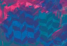 abstrakcyjny akrylowy tło Obrazy Stock