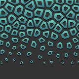 abstrakcyjny geometryczny wzór Fotografia Royalty Free