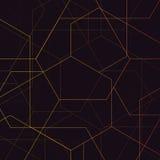 abstrakcyjny geometryczny wzór Obraz Stock