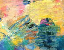 abstrakcyjny tło kolorowa paleta Rysujący ręką ilustracji
