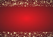 abstrakcyjny tło Bożenarodzeniowy tło z złotymi gwiazdami i miejsce dla teksta wektor ilustracja wektor
