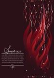 abstrakcyjny tło ciemnoczerwony royalty ilustracja