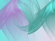 abstrakcyjny tło Cyfrowego kolaż z fractals Zdjęcia Stock