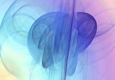 abstrakcyjny tło Cyfrowego kolaż z fractals Zdjęcie Stock