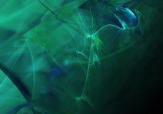 abstrakcyjny tło Cyfrowego kolaż z fractals fotografia stock