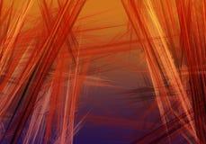 abstrakcyjny tło Cyfrowego kolaż z fractals Fotografia Royalty Free