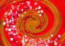 abstrakcyjny tło tło kolorowa tapeta Kolorowy abstrakcjonistyczny akrylowy obraz mikstura koloru tło ilustracja wektor