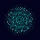 abstrakcyjny tło Wektorowy piękny okrąg ilustracji