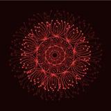 abstrakcyjny tło Wektorowy piękny okrąg ilustracja wektor