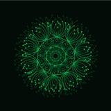 abstrakcyjny tło Wektorowy piękny okrąg royalty ilustracja