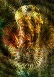 abstrakcyjny tło Fotografia Royalty Free