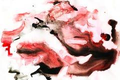 abstrakcyjny tło atrament Obraz Stock
